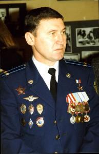 Герой России подполковник Ю.И. Ставицкий