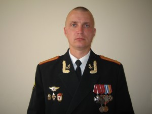 Подполковник А.М. Лебедев